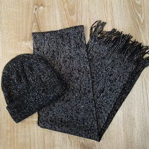 FREE With Any Purchase!  Sparkly Beanie & Scarf